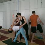 Adjusting Workshop im Ashtanga Vinyasa Yoga und Korrekturen