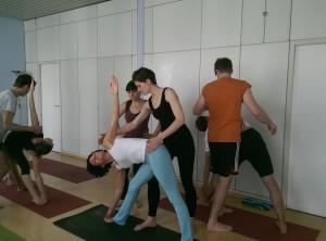 Adjusting Workshop im Ashtanga Vinyasa Yoga und Korrekturen @ Ashtanga Yoga Stuttgart