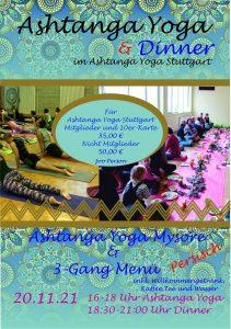 Ashtanga Yoga & Dinner (Persisch) @ Ashtanga Yoga Stuttgart